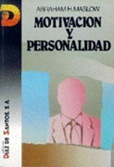 motivacion y personalidad-abraham harold maslow-9788487189845