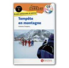 Ebooks de computadora gratis para descargar TEMPÊTE EN MONTAGNE. NIVEAU 1 9788496597945