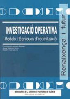 Chapultepecuno.mx Investigacio Operativa: Models I Tecniques D Optimitzacio Image