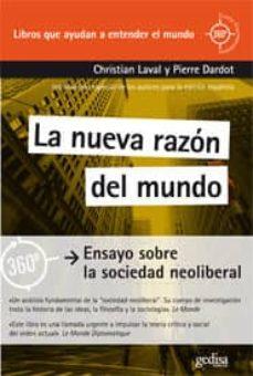la nueva razon del mundo-christian laval-9788497847445