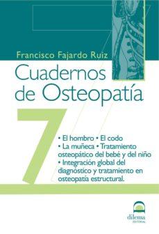 cuadernos de osteopatia nº 7-francisco fajardo ruiz-9788498270945