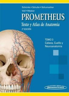 Mrnice.mx Prometheus. Texto Y Atlas De Anatomia. Tomo 3: Cabeza, Cuello Y N Euroanatomia (2ª Ed.) Image