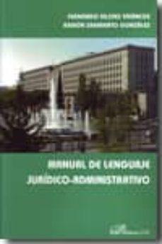 Iguanabus.es Manual De Lenguaje Juridico-administrativo Image