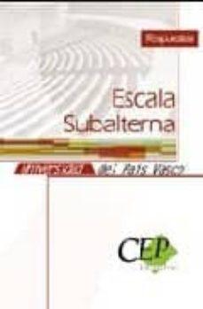 Officinefritz.it Respuesta Escala Subalterna Universidad Del Pais Vasco Image