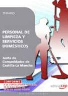 personal de limpieza y servicios domesticos. junta de comunidades de castilla-la mancha. temario-9788499377445
