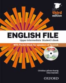 Las primeras 20 horas de descarga de audiolibros gratis. ENGLISH FILE UPPER-INTERMEDIATE: STUDENT´S BOOK WORKBOOK WITHOUT KEY PACK (Literatura española) MOBI de