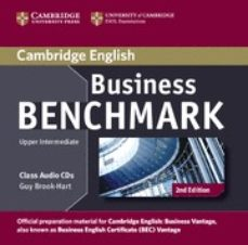 business benchmark (2nd edition) upper-intermediate business vant age class audio cds (2)-guy brook-hart-norman whitby-9781107633155