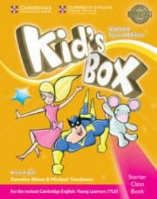 Descarga gratuita de audiolibros para Android KID S BOX (UPDATED 2ND EDITION FOR 2018 YLE EXAMS) STARTER PUPIL S BOOK WITH CD-ROM de  9781316627655 CHM PDB