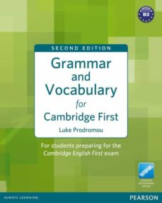 Ibooks descargas gratuitas GRAMMAR AND VOCABULARY FOR FCE 2ND EDITION WITHOUT KEY PLUS ACCESS TO LONGMAN DICTIONARIES ONLINE  (Literatura española) de
