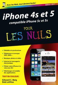 iphone 4s et 5 édition ios 7 pour les nuls (ebook)-edward c. baig-bob levitus-9782754055055