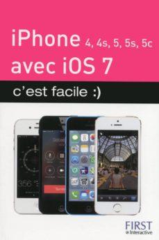 iphone (4, 4s, 5, 5s et 5c) avec ios 7, c'est facile :) (ebook)-yasmina lecomte-sébastien lecomte-9782754065955