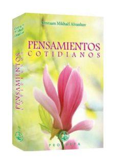 Pdf gratis descargar libros en línea PENSAMIENTOS COTIDIANOS 2020