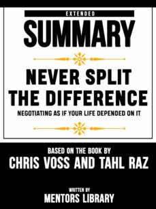 Chris voss never split the difference pdf free download