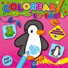 Ojpa.es Colorear Es Facil: Rosa (Con Adhesivos Reutilizables) (Yoyo Book) Image