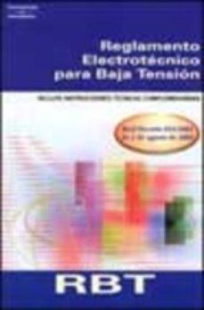 Garumclubgourmet.es Reglamento Electrotecnico Para Baja Tension: Incluye Instruccione S Tecnicas Complementarias Image