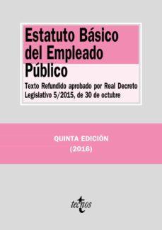 Descargar ESTATUTO BASICO DEL EMPLEADO PUBLICO gratis pdf - leer online