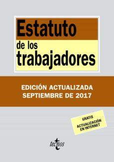 estatuto de los trabajadores (33ª ed.)-9788430971855