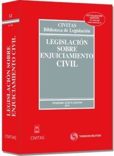 Curiouscongress.es Legislacion Sobre Enjuiciamiento Civil (35ª Ed) Image