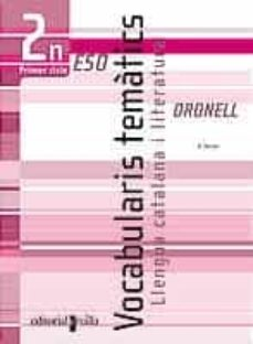 Curiouscongress.es Llengua Catalana I Literatura: Vocabularis Tematics Oronell 2n Es O Primer Cicle Image