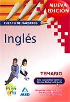 Encuentroelemadrid.es Temario Ingles: Cuerpo De Maestros Image