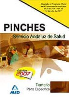 Carreracentenariometro.es Pinches Del Servicio Andaluz De Saluid. Temario Parte Especifica Image