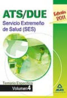 Chapultepecuno.mx Ats/due Del Servicio Extremeño De La Salud (Ses): Temario Especif Ico Volumen Iv Image