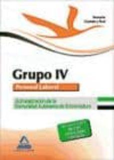 Geekmag.es Grupo Iv Personal Laboral De La Administracion De La Comunidad Au Tonoma De Extremadura: Temario Comun Y Test Image