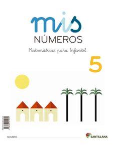 mis matematicas 5 (cuad + album)   infantil ed 2013 cast.-9788468015255