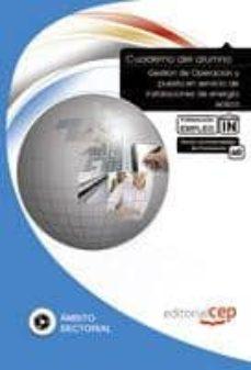 Chapultepecuno.mx Cuaderno Del Alumno Gestión De Operación Y Puesta En Servicio De Instalaciones De Energia Eolica. Formacion Para El Empleo. Image