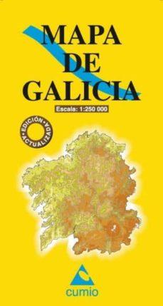 Encuentroelemadrid.es Mapa De Galicia (2012) (Escala 1:250 000) Image