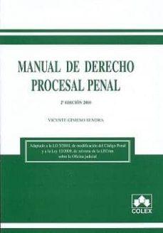 Padella.mx Manual De Derecho Procesal Penal (2ª Ed.) Image