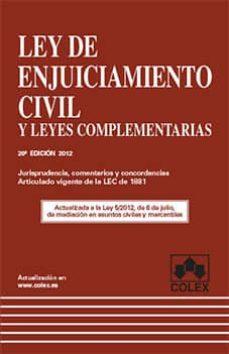 Upgrade6a.es Ley De Enjuiciamiento Civil (20ª Ed.) Image