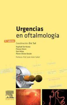 Descarga gratuita de libros de google. URGENCIAS EN OFTALMOLOGÍA, 4ª ED