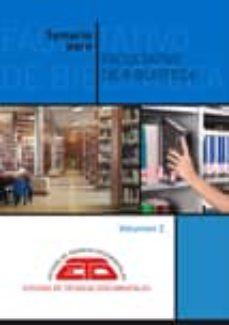 TEMARIO PARA FACULTATIVO DE BIBLIOTECA. VOLUMEN 2: TECNOLOGIAS DE LA INFORMACION, HISTORIA DEL LIBRO Y LAS BIBLIOTECAS Y DERECHO (6ºED.) - VV.AA. | Triangledh.org