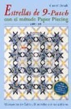 Descarga gratuita de ebooks para palm ESTRELLAS DE 9 PATCH CON EL METODO PAPER PIECING (LIBRO + DVD)