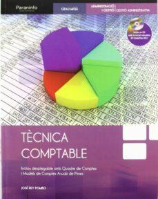 tecnica comptable (ciclos formativos de grado medio)-jose rey pombo-9788497328555