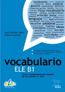 vocabulario ele b1-9788497784955