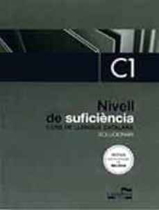 Descargar ebook for ipod gratis SOLUCIONARI NIVELL DE SUFICIÈNCIA C1
