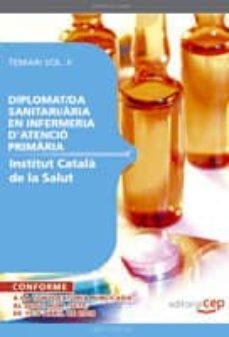 Elmonolitodigital.es Diplomat/da Sanitari/aria Enfermeria D Atencio Primaria L Institu T Catala Salud Temari Ii Image