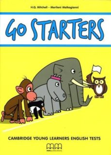 Mrnice.mx Go Starters Student´s Book + Cd Image