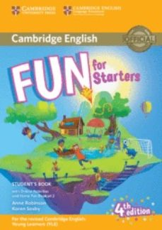 Gratis ebooks para descargar FUN FOR STARTERS STUDENT S BOOK WITH ONLINE ACTIVITIES WITH AUDIO AND HOME FUN BOOKLET 2