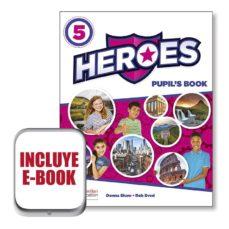 Descargas de libros de texto de libros electrónicos HEROES 5 PUPIL´S BOOK  EBOOK PACK de  9781380008565