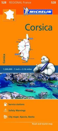 mapa regional corsica / corse-9782067211865