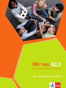 E-libros descargados gratis WIR NEU A22 EJERCICIOS+CD 9783126758765 (Spanish Edition)