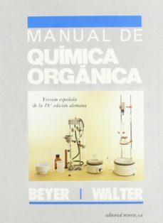 manual de quimica organica-m. l. ... [et al.] beyer-9788429170665