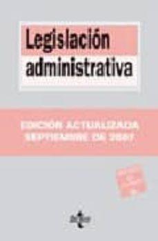 Cdaea.es Legislacion Administrativa (10ª Ed.) Image