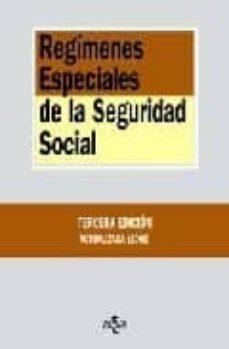Srazceskychbohemu.cz Regimenes Especiales De La Seguridad Social (3ª Ed.) Image