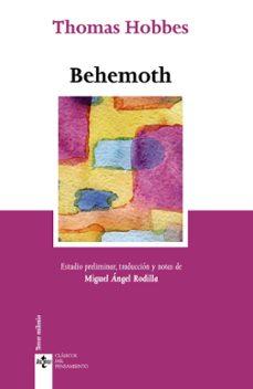 behemoth-thomas hobbes-9788430957965