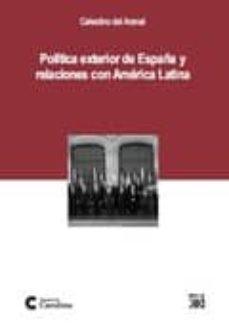 Cdaea.es Politica Exterior De España Y Relaciones Con America Latina: Iber Oamericanidad, Europeizacion Y Atlantismo En La Politica Exterior Image