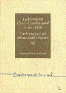 Cdaea.es La Formacion Civico-constitucional En Las Aulas. Las Institucione S Del Sistema Politico Español (Uned) (Vol. 2) Image
